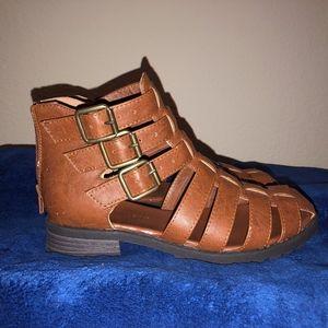 Summer Boots Tan